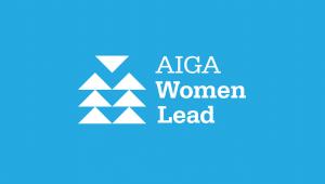 AIGA Women Lead Logo