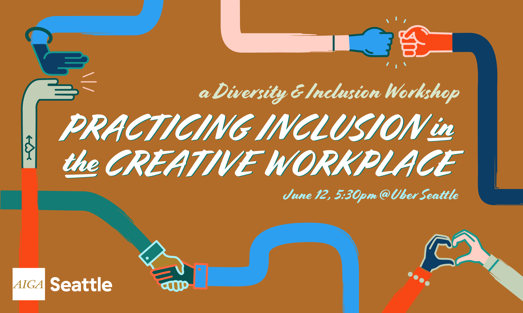 Practicing Inclusion in the Creative Workplace event banner